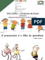 Aula Inclusão Síndrome de Down