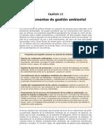 Instrumentos de la gestión ambiental