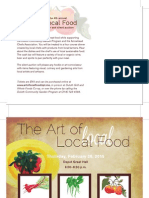 The Art of Local Food