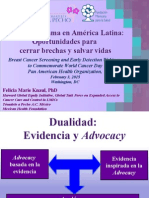 Cáncer de mama en América Latina