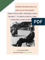 Convocatoria Peruanistas 2015