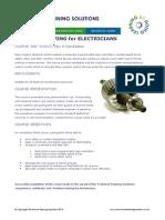 Problem-solving for Electricians