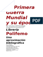 catalogo Primera Guerra