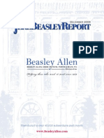 The Jere Beasley Report, Dec. 2008