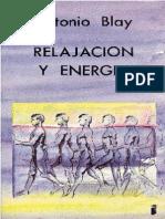 Blay Fontcuberta Antonio Relajacion y Energia