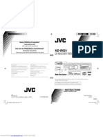 JVC Kdr621 Instructions