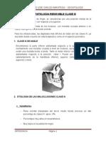 Aparatologia Removible Clase III