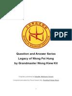 Legacy of Wong Fei Hung