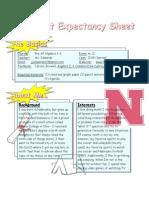 edwards expectancy sheet