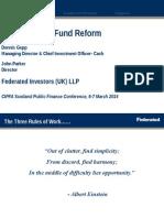 Federated Money Market Fund Reform
