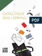 Moleskine Spring 2015 Catalogue