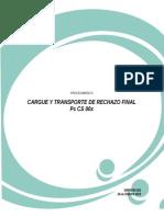 Procedimiento Cargue y Transporte de Rechazo Final