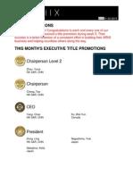 Weekly Title Promotion Week 05
