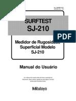 Manual Rugosímetro  Sj 210 - Português