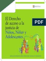 El Derecho de acceso a la justicia de Niños, Niñas y Adolescentes