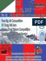Four Lakes SnoFest 2015