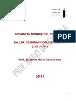 Separata Taller de Redaccion Teoria 2013