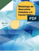 Guia Metologia Sobre Funcion Publica