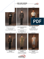 Cdt - Army Cadet Uniform 2013