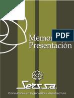 Memoria Presentacion