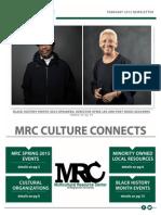 February 2015 MRC Newsletter