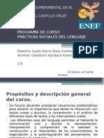 Practicas Sociales Del Lenguaje, Kg.