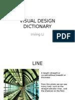 visual design dictionary pptx