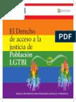 El Drecho de acceso a la justicia de población LGBTI