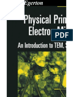 Physical Principles of Electron Microscopy an Introduction to TEM, SEM, And AEM