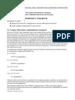 Configurar Direcciones IP