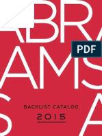 Abrams 2015 Backlist Catalog