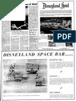 Disneyland Opening Article
