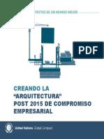 Arquitectura post 2015 de compromiso empresarial.