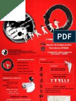 Tai Chi Xin Yi - Diptico Seminario Marzo 2015