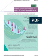 5/02/2015 Reforma Constitucional para regular la deuda Pública de Estados y Municipios