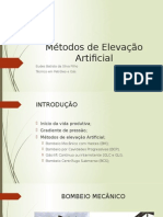 Métodos de Elevação Artificial - AULA TESTE