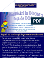 0modificari in Doom 2 Fata de Doom 1