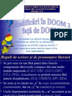 0modificari in Doom 2 Fata de Doom 1