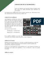 Capacitación de Uso de La Tecnología 1 - Abril 2014