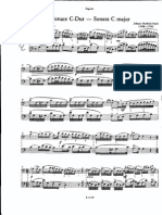 Johan Fasch - Sonata Dó Major