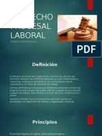 Dereecho Procesal Laboral Diapositivas