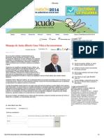 30-01-15 Mensaje de Jesús Alberto Cano Vélez a los sonorenses