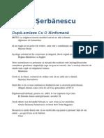 Eugen Serbanescu - Dupa-Amiaza Cu o Ninfomana