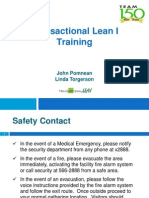 Transactional Lean I Training