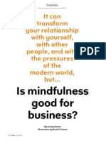 Mindful is Mindfulness Good for Business