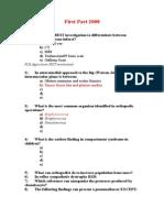 Part 1 Exam 2008