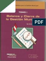 Tomo I- 2010 Balance y Cierre de La Gestion Municipal-RCLAROS