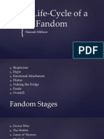 Lifecycle of Fandom