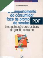 Moura, 2000 - Comportamento do Consumidor Face às Promoções de Vendas
