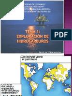 EXPLORACION DE HIDROCARBURO